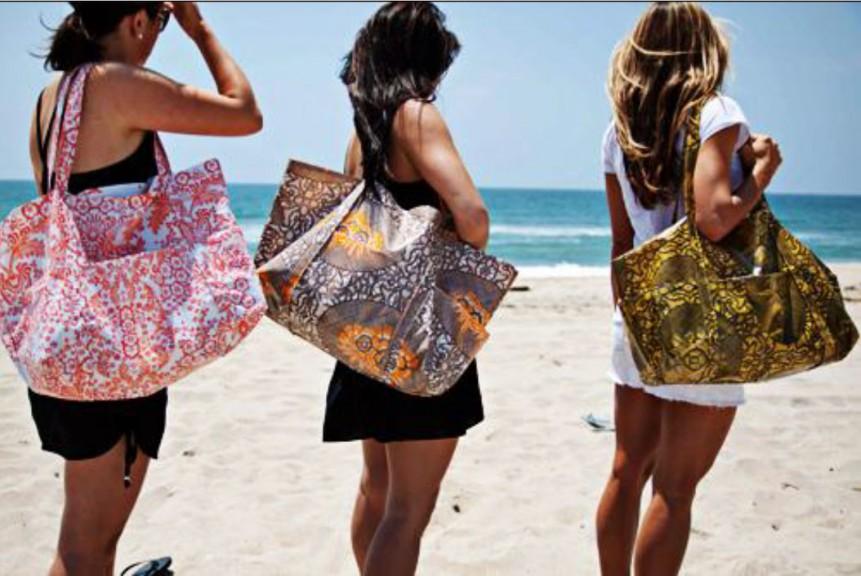 Сшить сумка для пляжа
