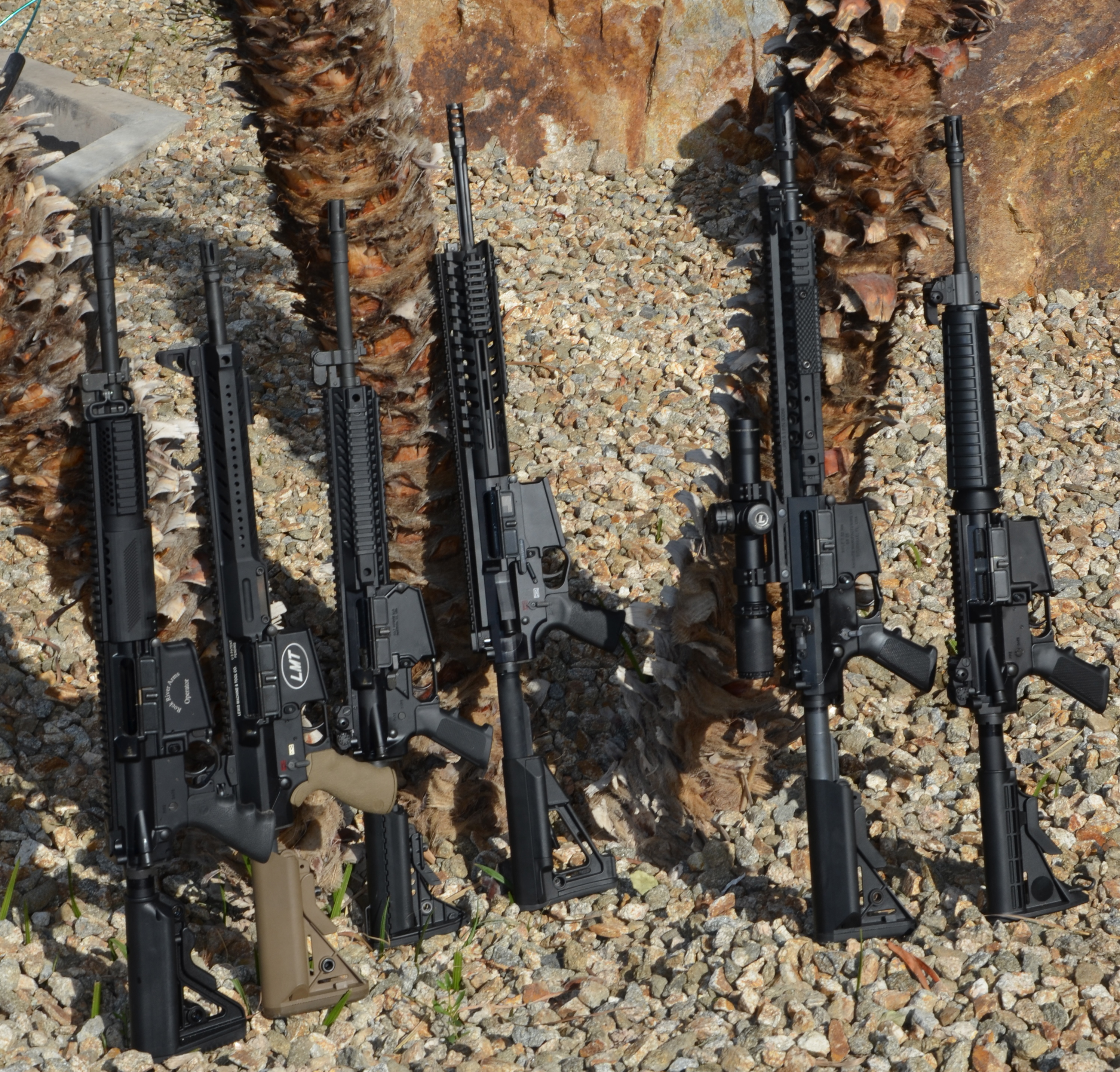 308 AR Battle Royale: Six Go Head to Head | S W A T  Magazine