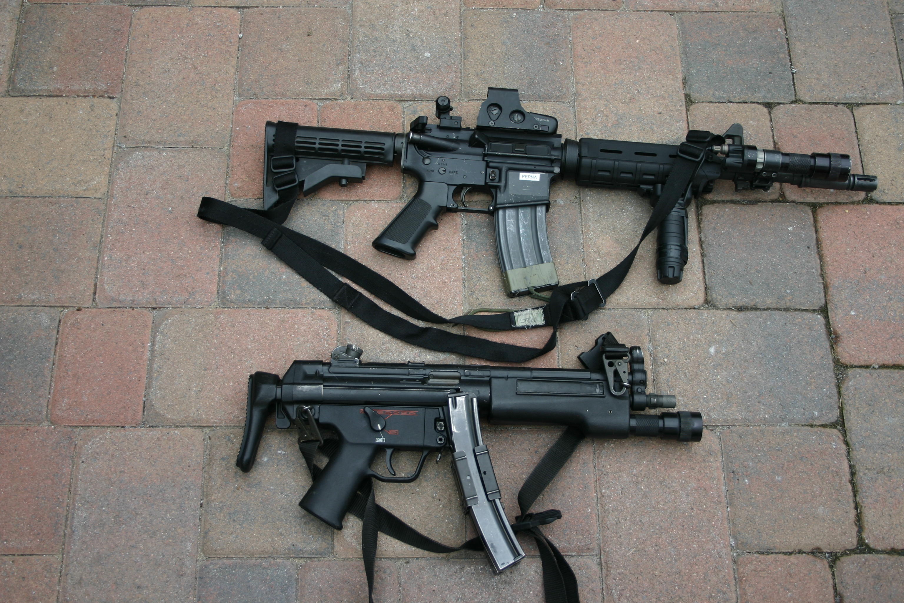 Freedom of Choice: M4 or MP5? | S W A T  Magazine