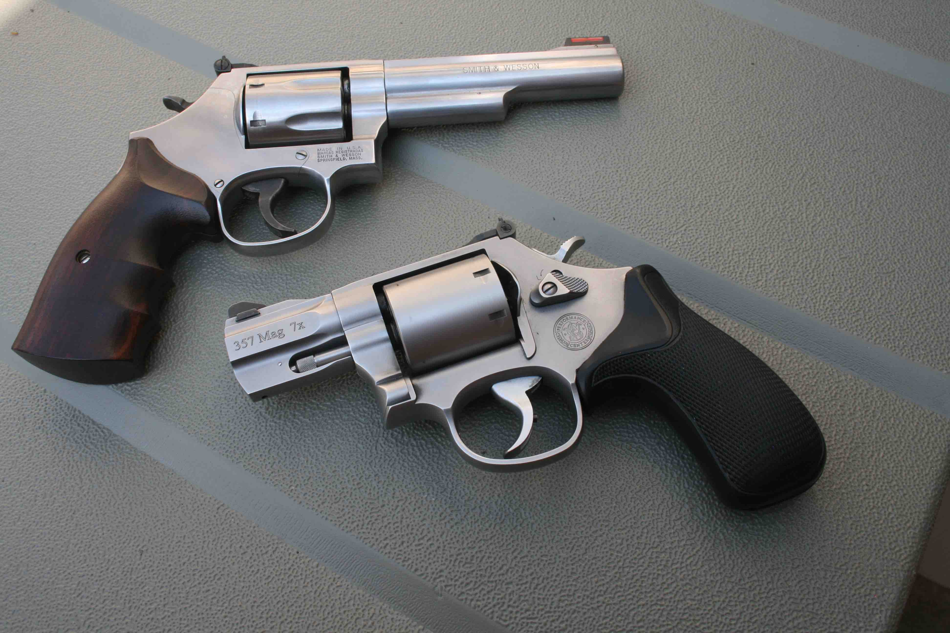 Limited Edition Model 686 Has A Five Inch Bull Barrel And Seven Shot Cylinder PC Bottom Was Worthy Stablemate