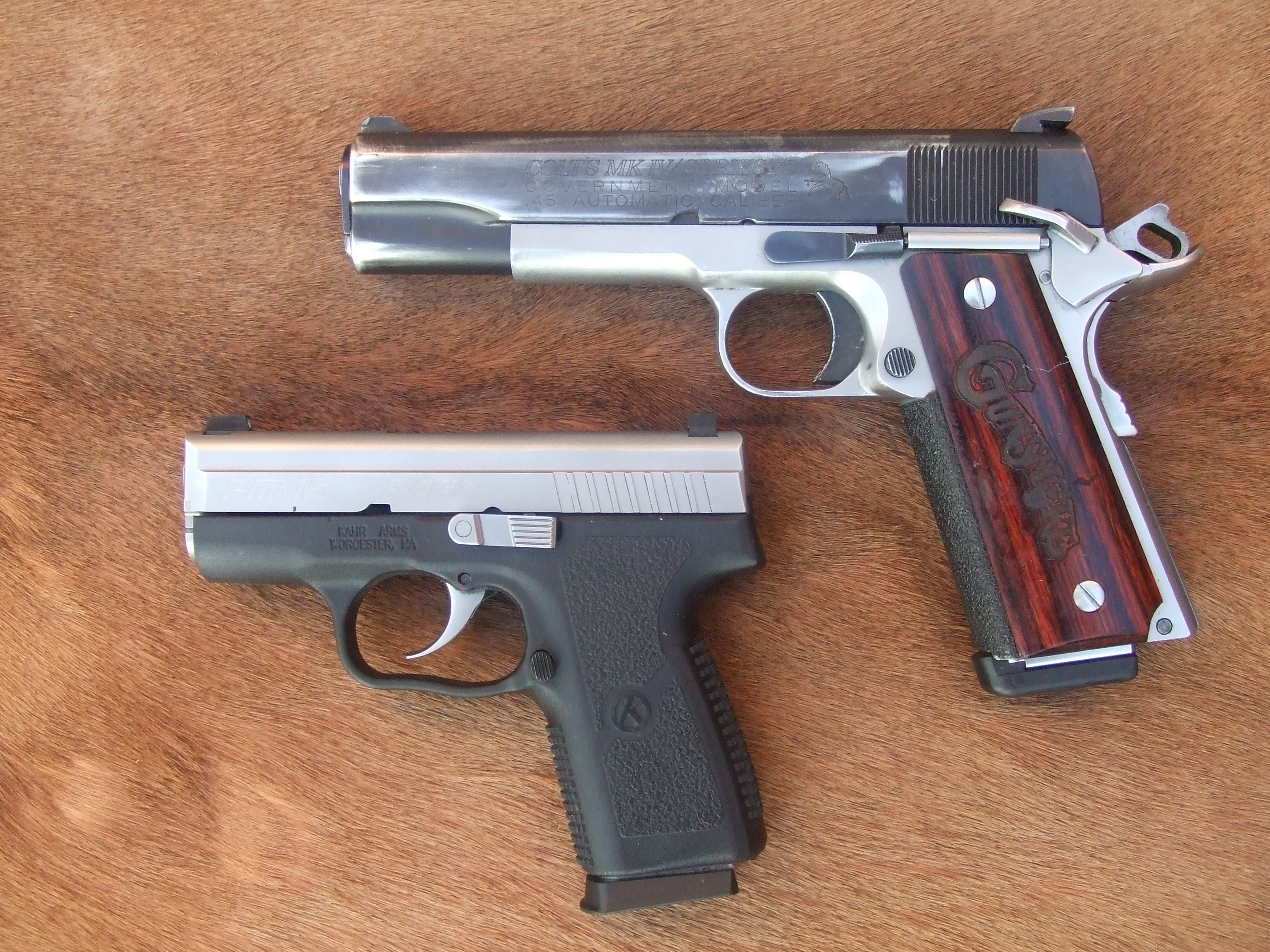Day of the Ankle Gun: Kahr Arms PM45 | S W A T  Magazine