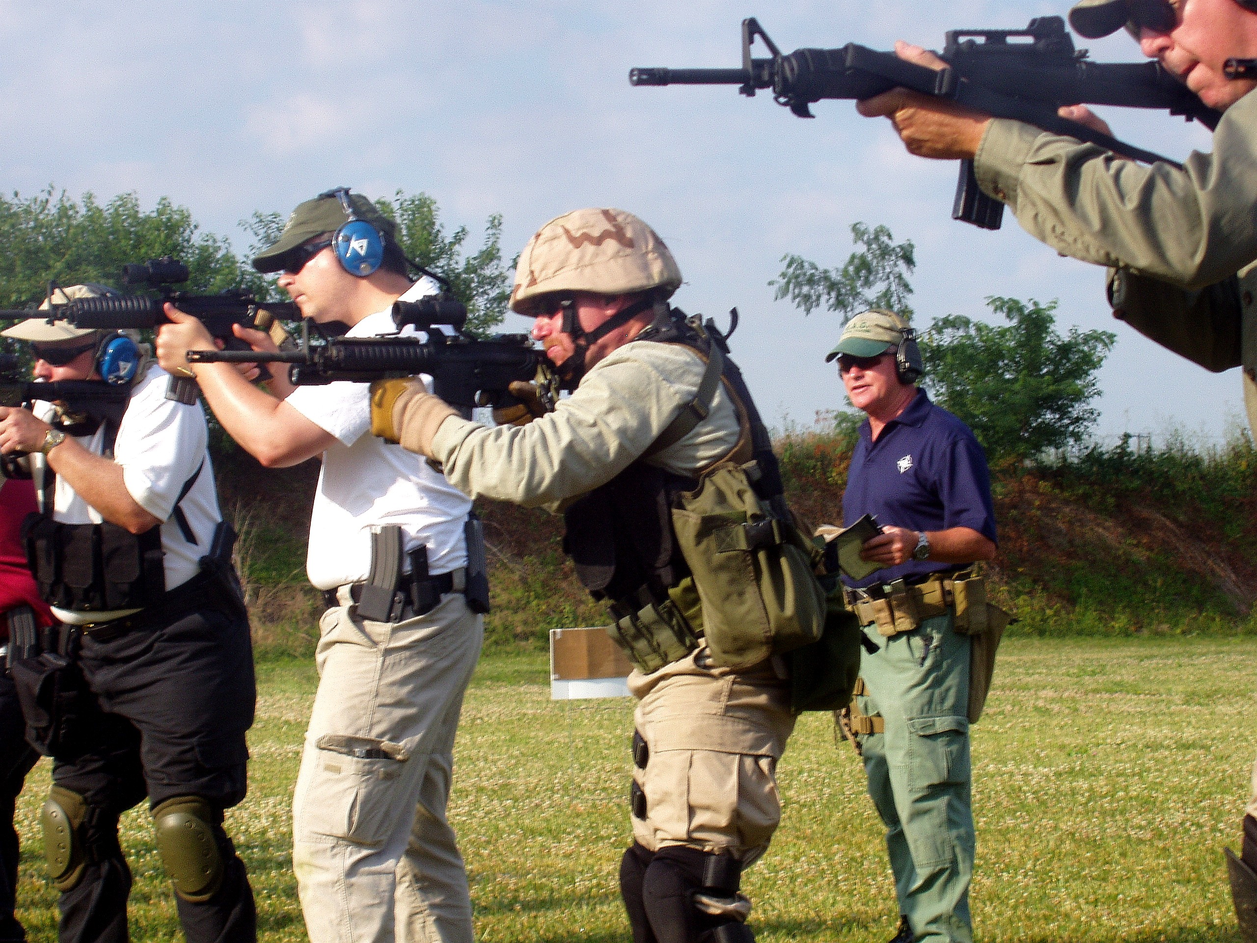 Training with Pat Rogers: E A G  Tactical Carbine Course