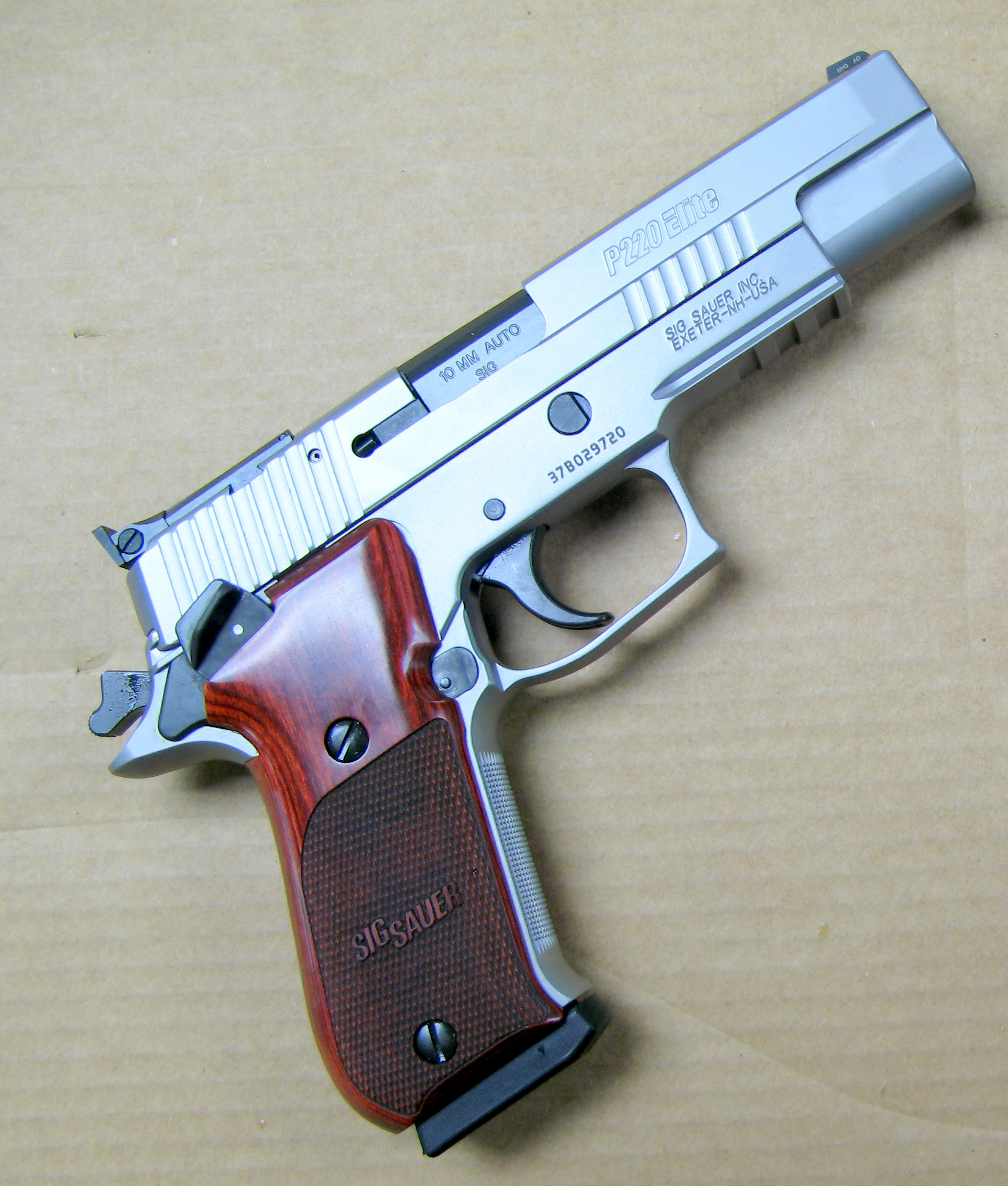 King of the Autos: SIG Sauer Elite Stainless P220 | S W A T