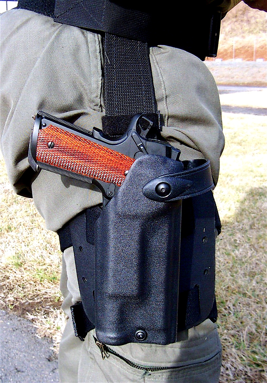 Choice of the FBI HRT: Springfield Armory Professional Model