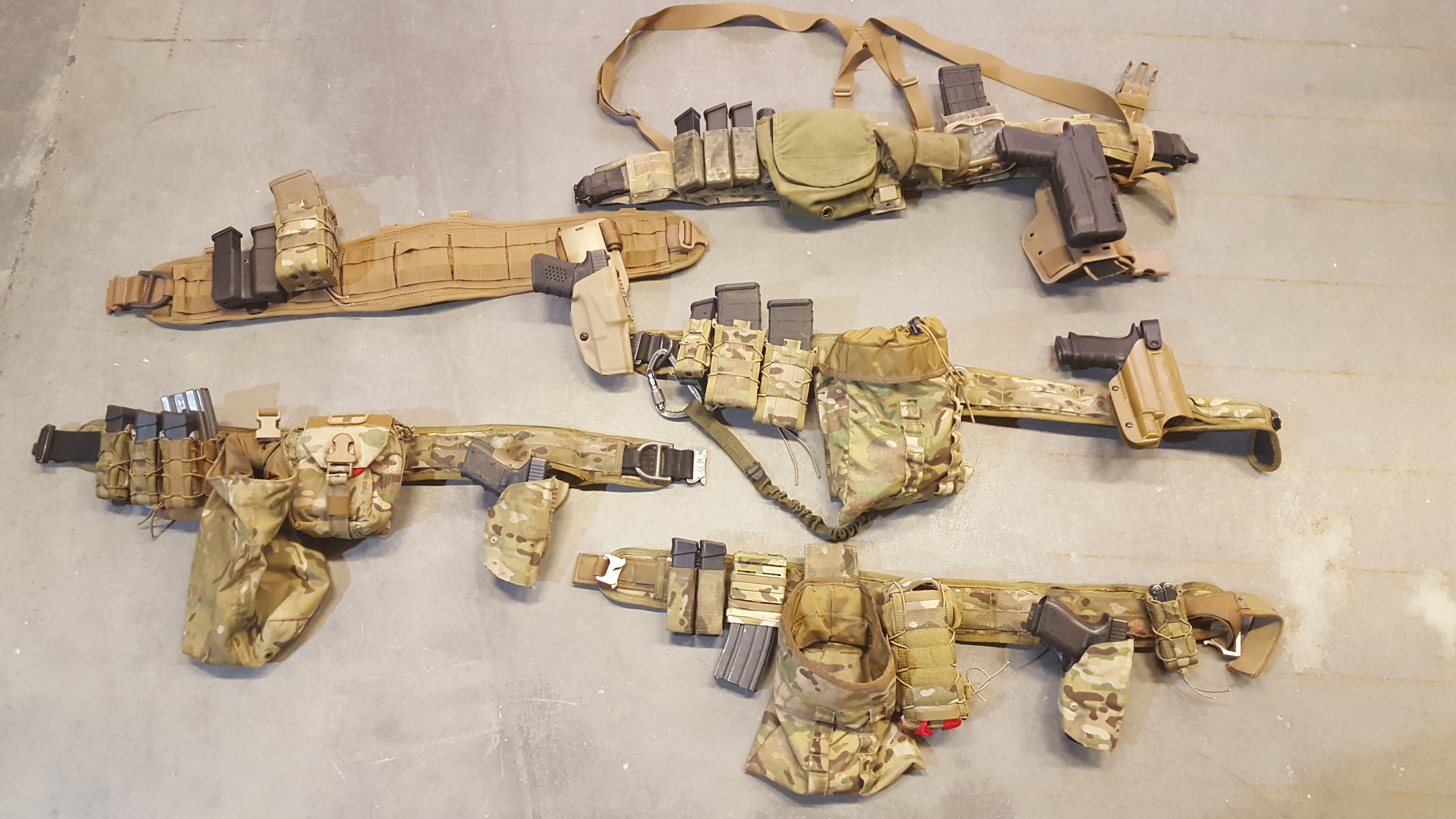 War Belts: Rigging Up for Battle | S W A T  Magazine