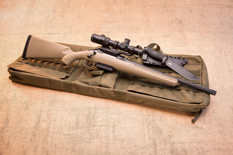 Bolt-Action Thumper:  450 Bushmaster Ruger American Ranch