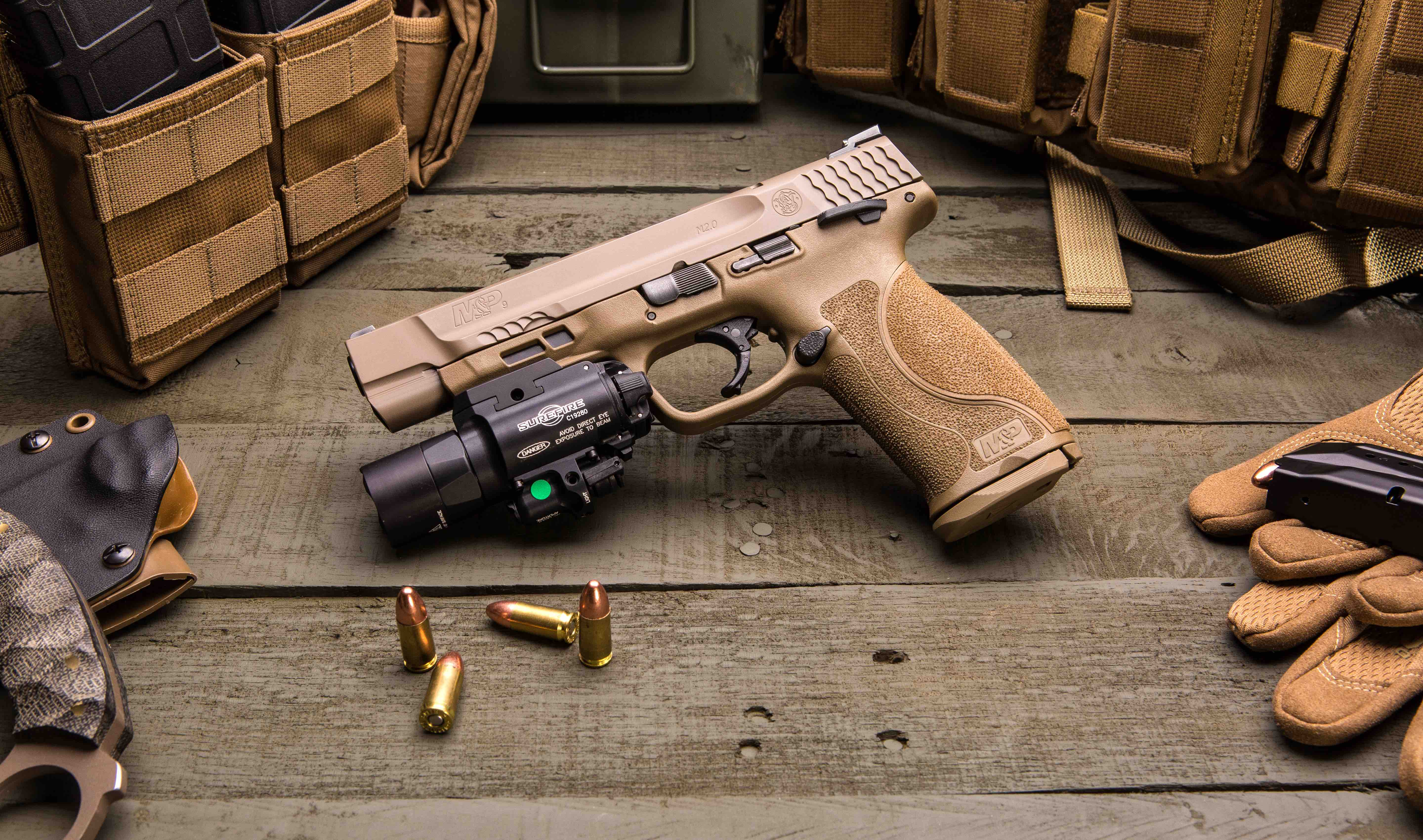 A Pistol for the Future: Smith & Wesson M&P M2.0 Pistol ...