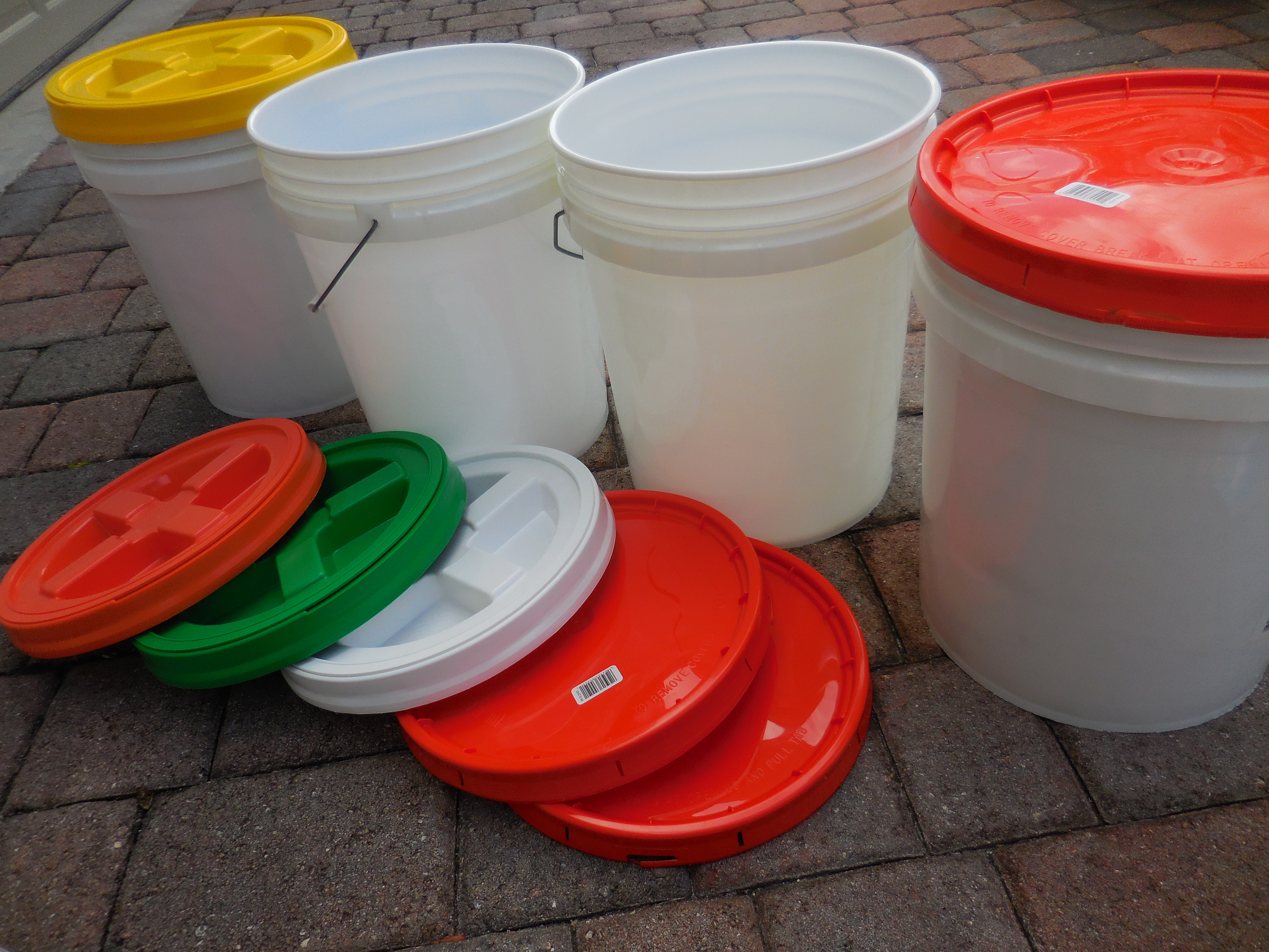 Ergonomic bucket handles which make carrying heavy buckets more comfortable on your hands. & Crisis Cuisine: Long-Term Food Storage | S.W.A.T. Magazine