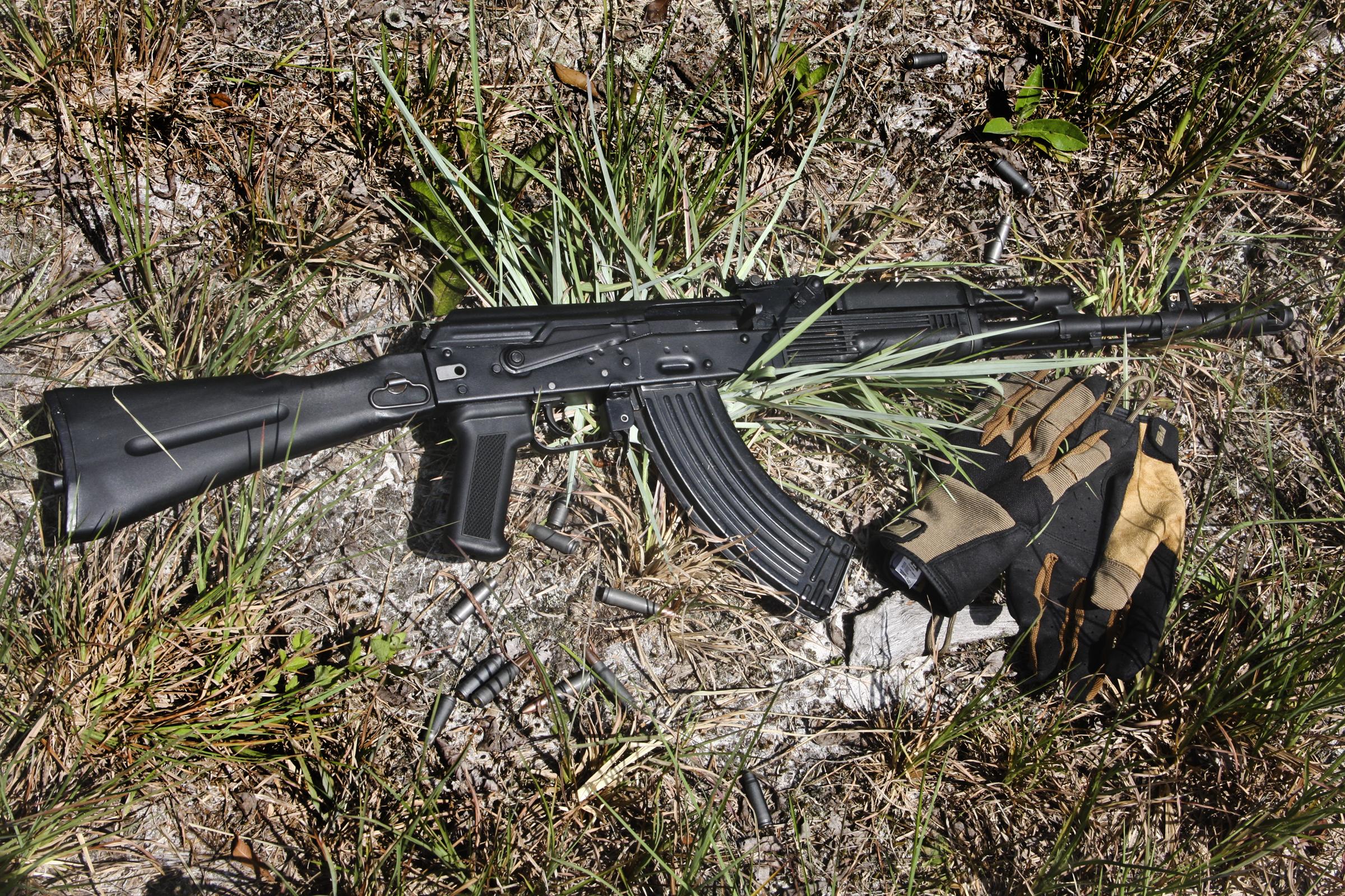 My First Kalashnikov: Arsenal SLR-107F AK   S W A T  Magazine