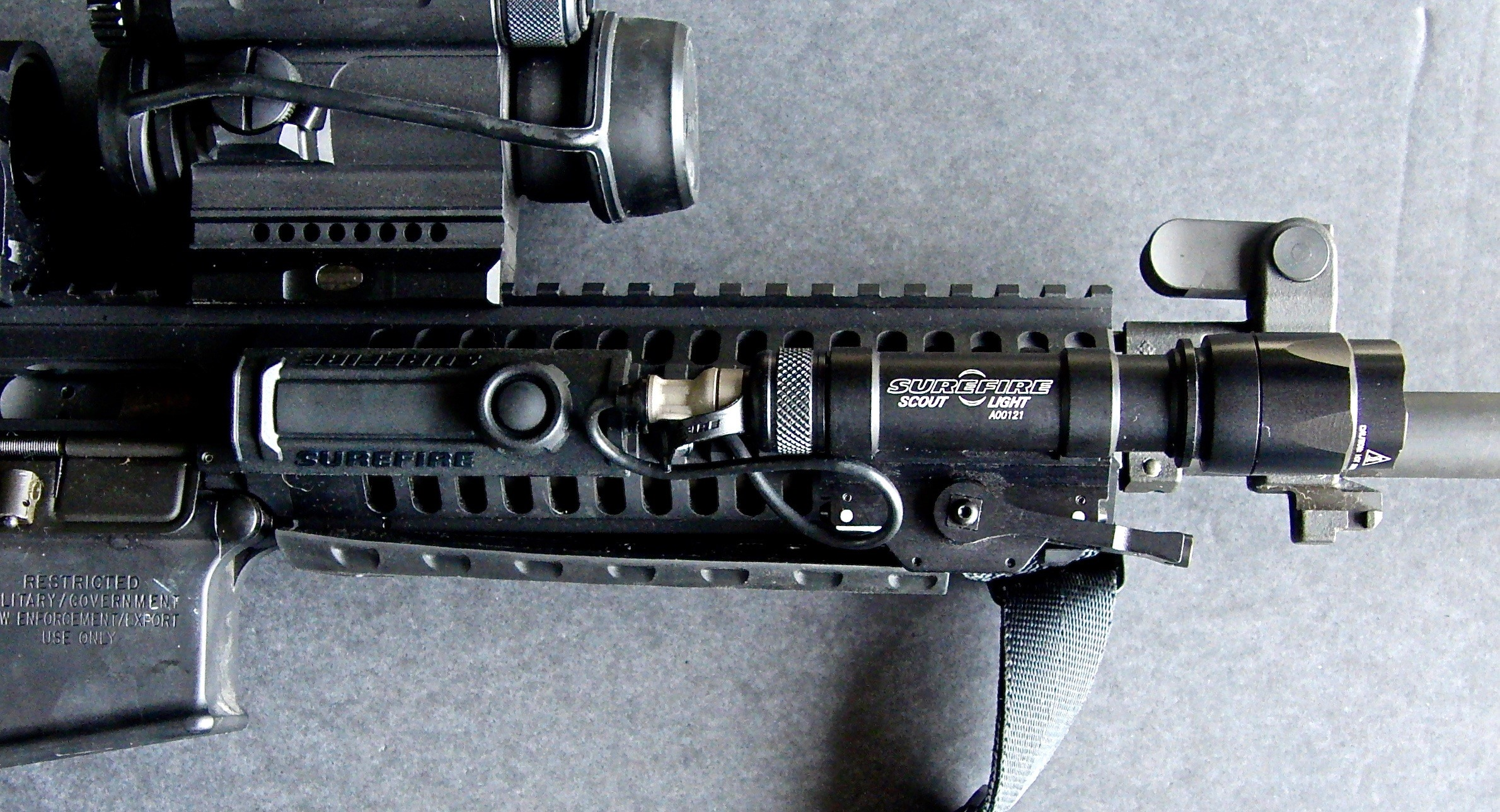 Long Guns: Compact Weaponlights for Ar Carbines | S.W.A.T. Magazine