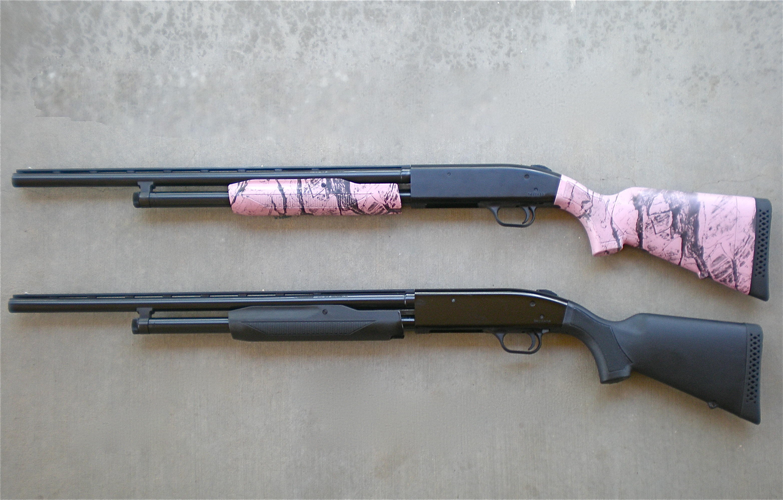 Shotgun Wedding Mossberg 500 Super Bantam For Home Defense