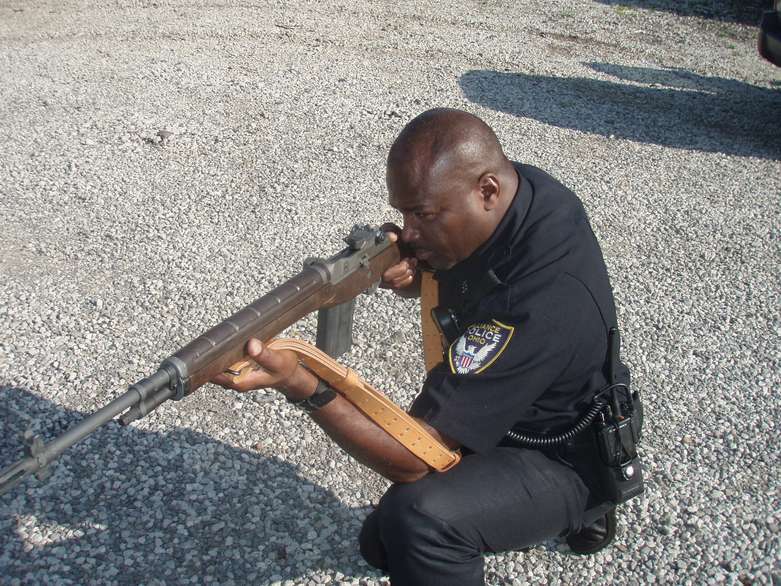 Thousands of M14s and the more practical M16A1 have entered police service  via DoD programs.
