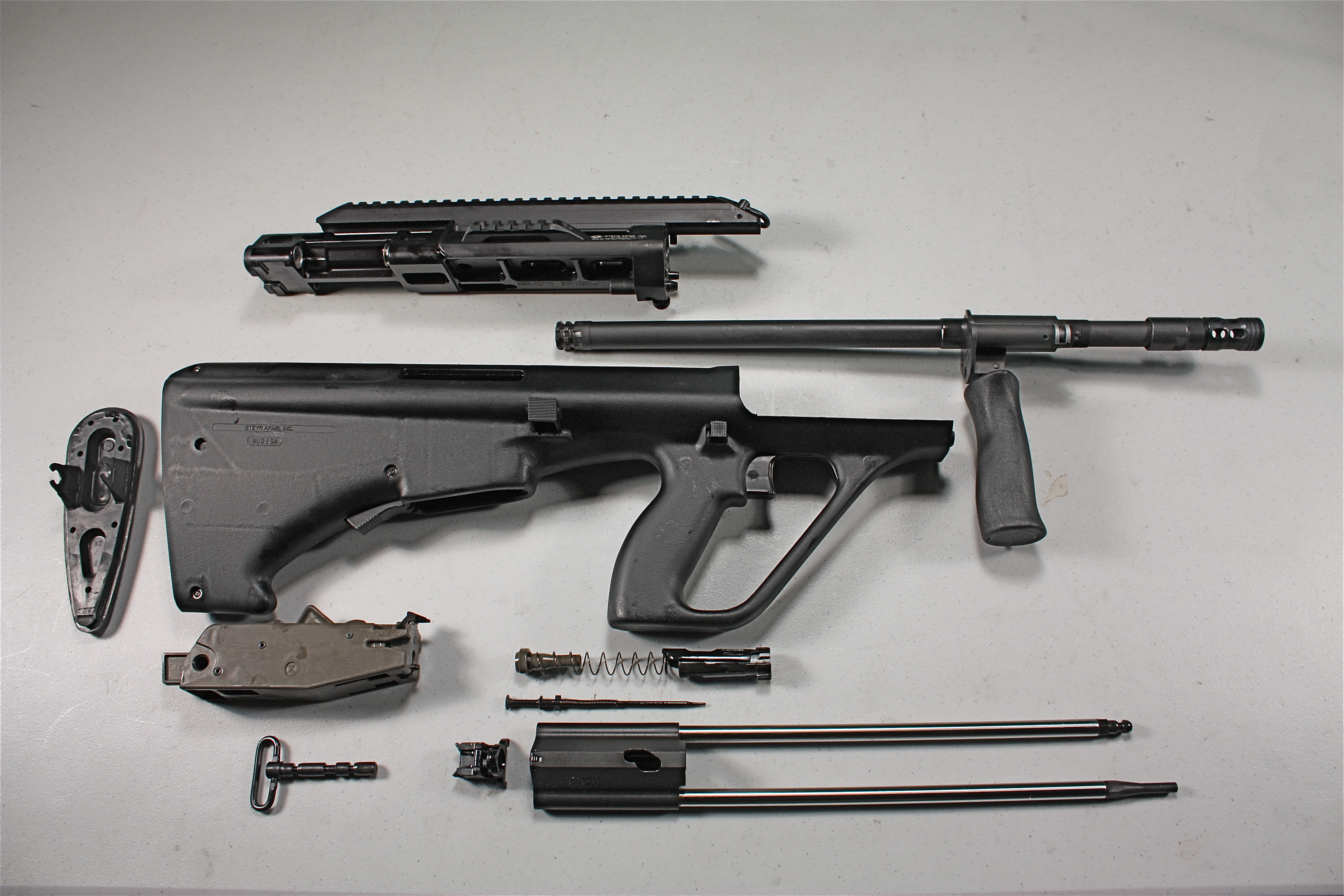 The Real Thing: Steyr AUG Now Made in America | S W A T
