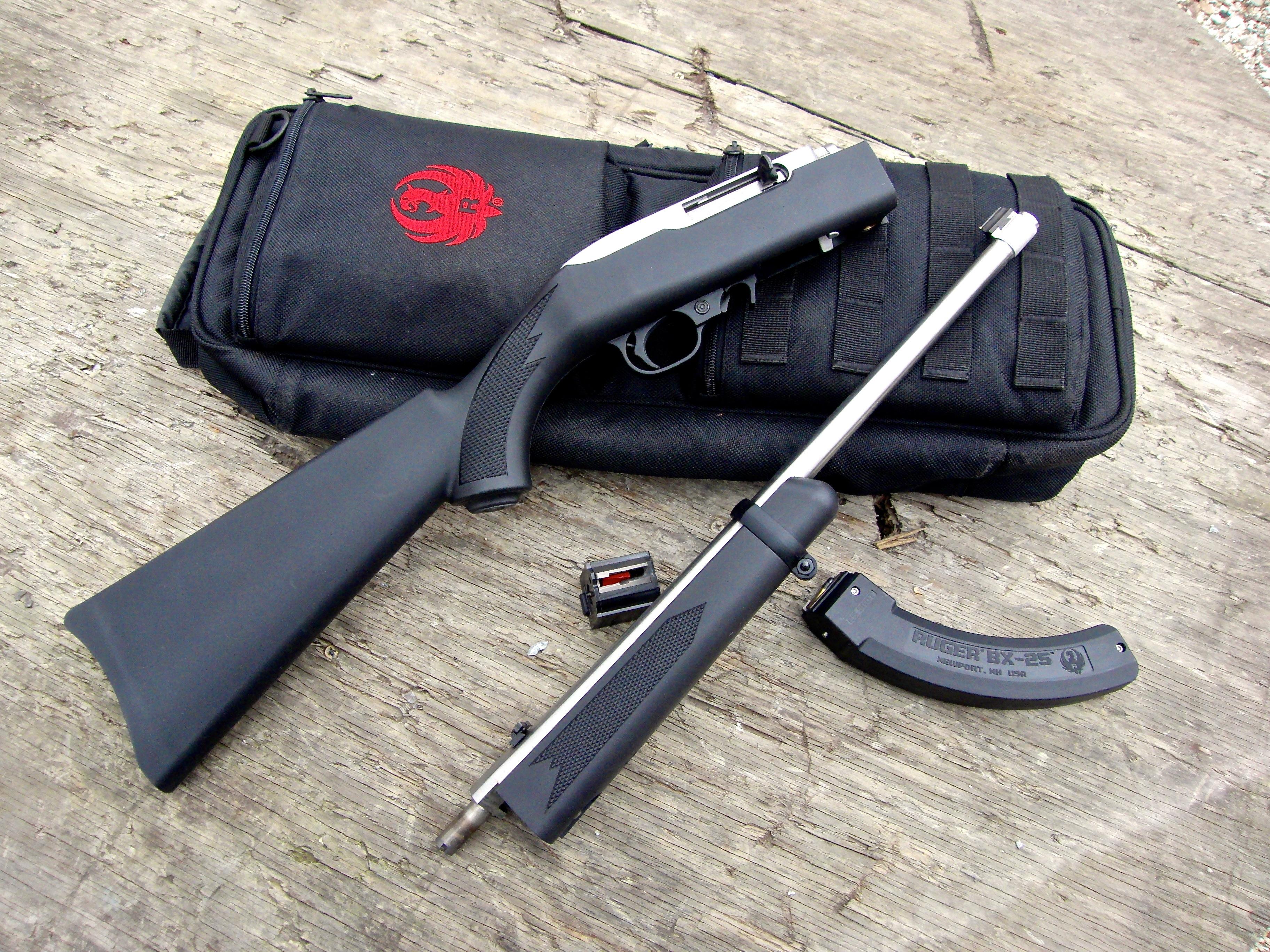 Long Guns: Ruger 10/22 Takedown Rifle | S.W.A.T. Magazine