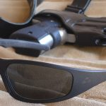 Ballistic eye protection is essential for all shooters and anyone who may go into harm's way. Liquid Eyewear Gasket with hingeless frame made from aircraft aluminum. Liquid also makes a hinged frame model, called the T-Flex, with patent-pending rubber hinge. Liquid Eyewear is veteran-owned and made in the USA.