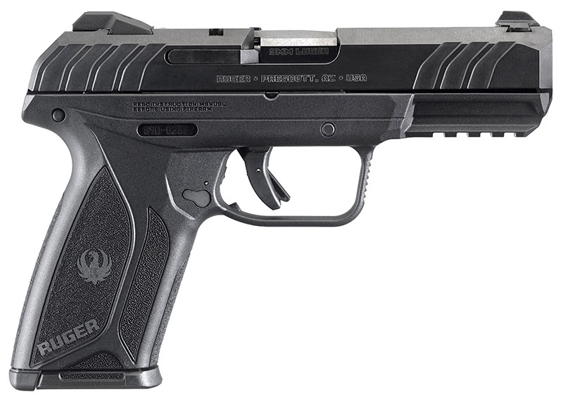 Chambered in 9mm Luger and utilizing a 15-round double-stack magazine, Security-9 strikes great balance between compact and full-size pistols. Photo: Ruger