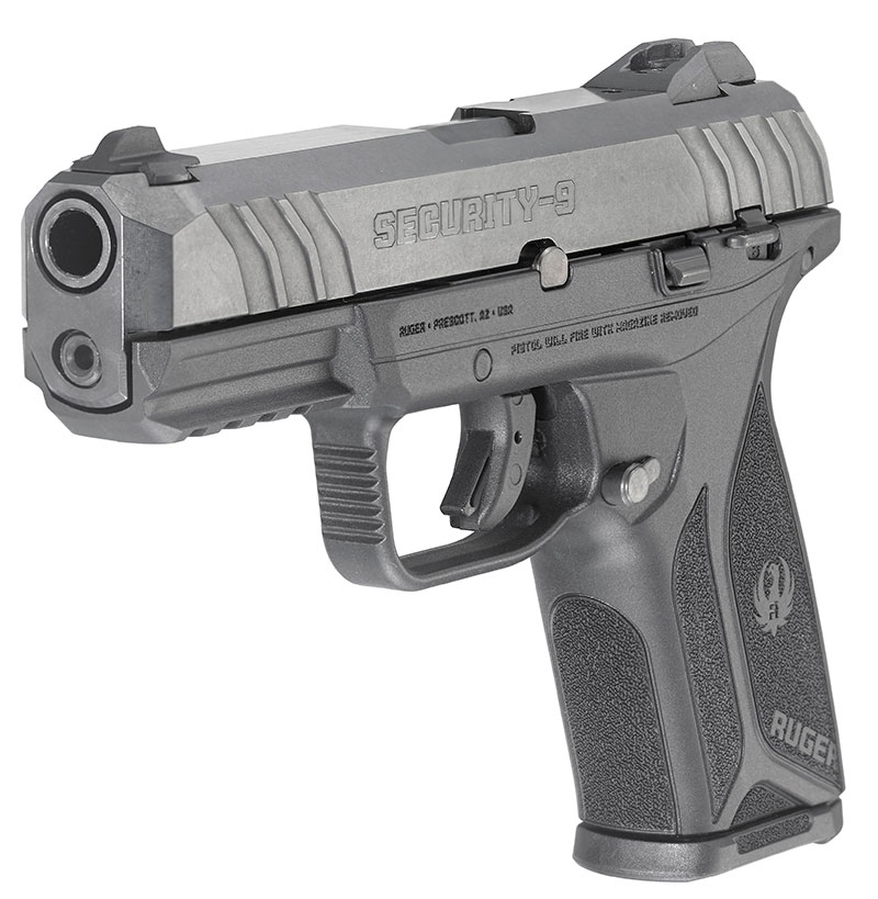 Ideal for everyday carry and self-defense, Security-9 is an affordable, rugged pistol that provides everyday security. Photo: Ruger