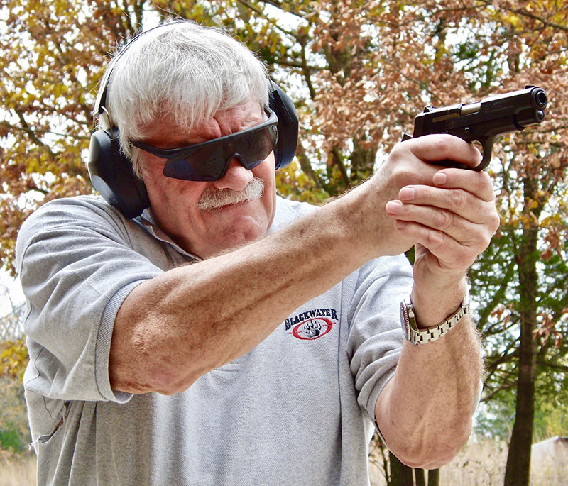 Thompson found Star BM pleasant to shoot even with 9x19mm +P loads. Steel frame cushions recoil.