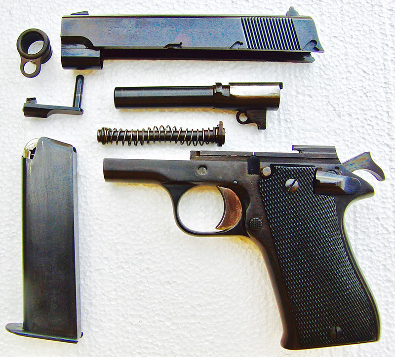 Star BM disassembled into its primary components for cleaning.
