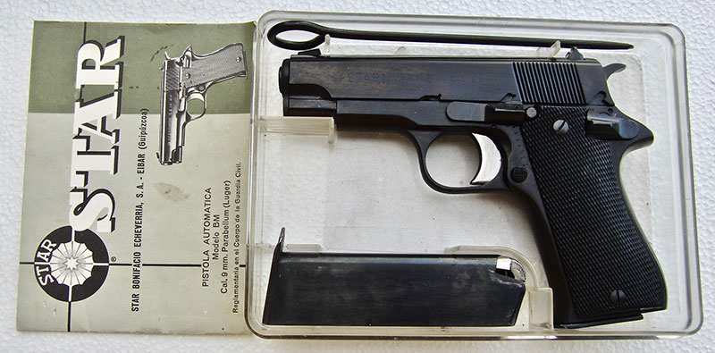 As shipped from Century International Arms, BM came with a cleaning rod, spare magazine, and instruction manual in Spanish.