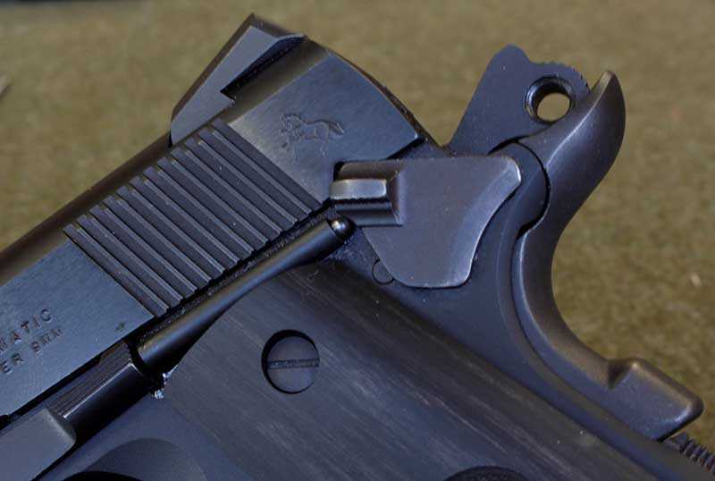 Wiley Clapp pistols come with a very standard safety, which should be replaced.