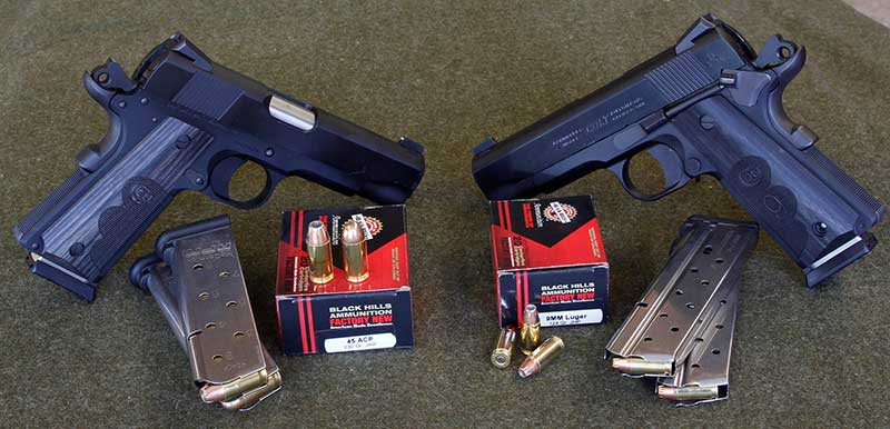 Wiley Clapp pistol in 9mm or .45 ACP is a great carry choice for 1911 fans.
