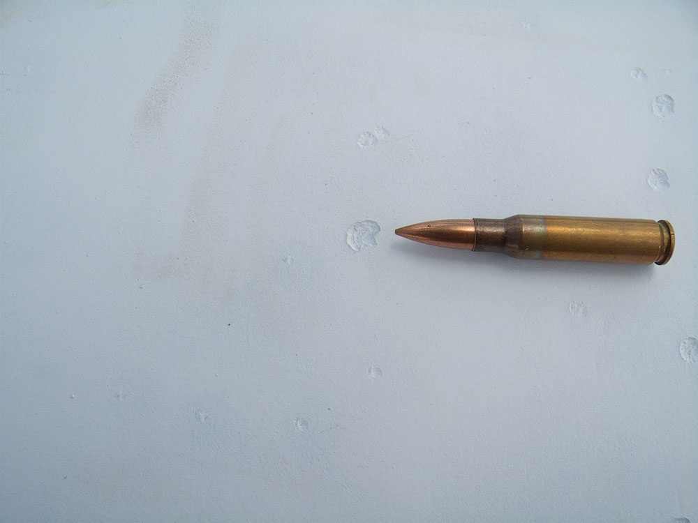 Effect of .338 Lapua from 100 yards!