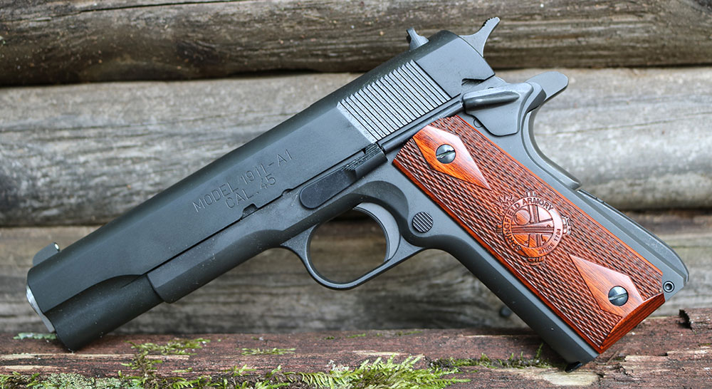 Springfield Armory 1911 Mil-Spec incorporates classic GI flavor with a few modern amenities.