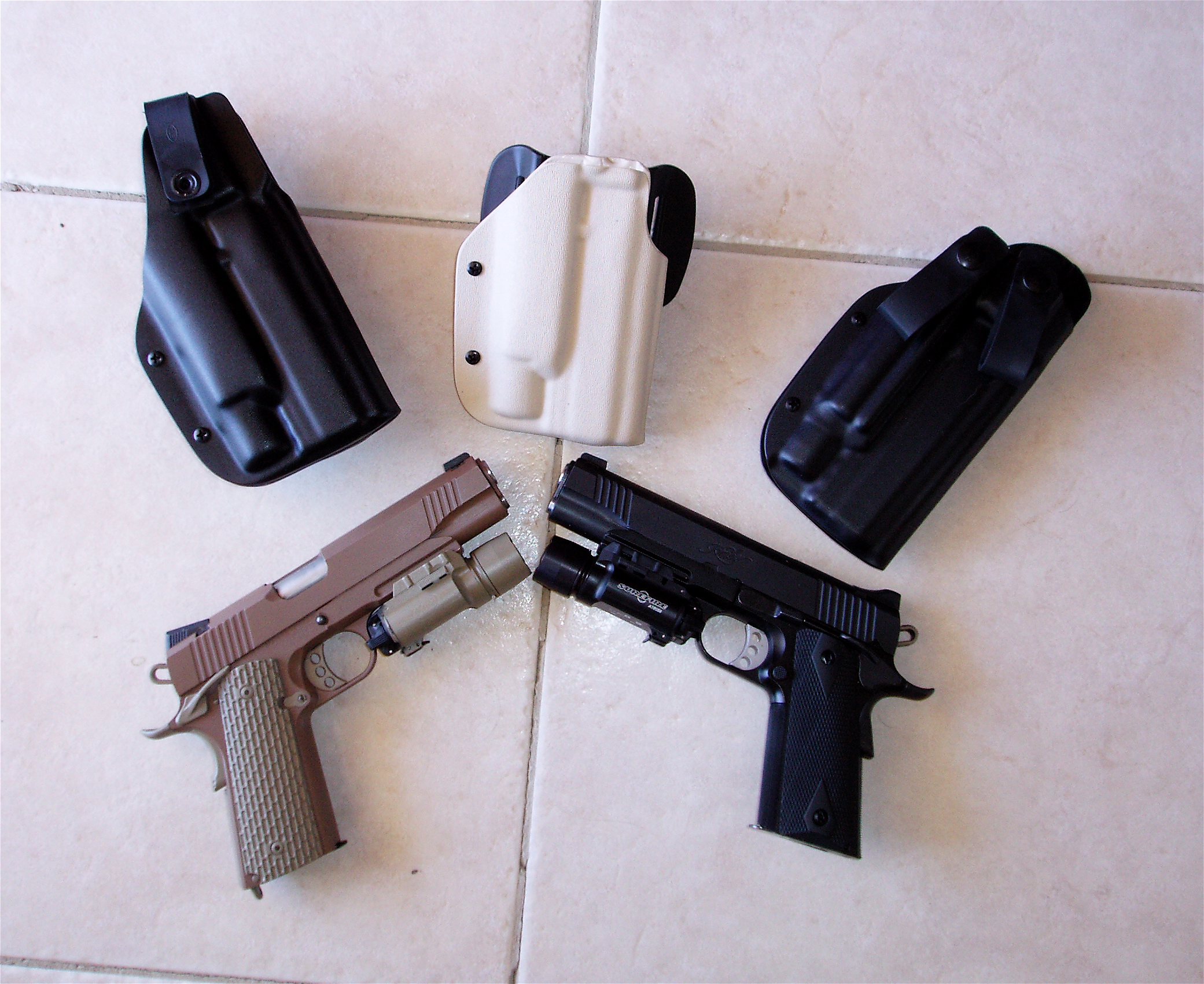 Lawful Carry: Blade-Tech Holsters For Pistols With Tactical Lights