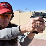 Wiley Clapp 9mm ran and shot very well for Stacey. She hit center from two to 50 yards.