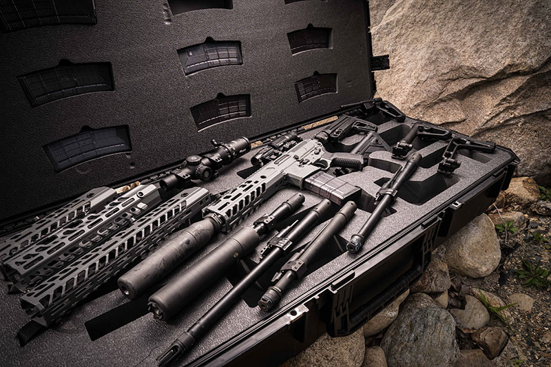 Small sampling of options available with MCX Virtus. SIG MCX modularity does not stop with caliber change: Shorter barrel lengths, rails, and other features are easily tailored to fit end-user needs. Nearly 500 different configurations are possible.