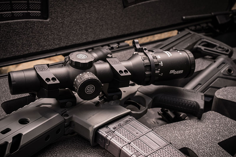 SIG Sauer Tango 6 1-6X scope is perfect fit with weapons for various missions such as uber-adaptable SIG Sauer MCX.