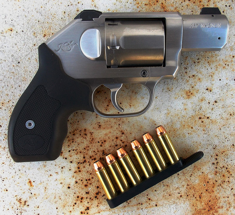 Six-round speed strip is supplied with Kimber K6s.