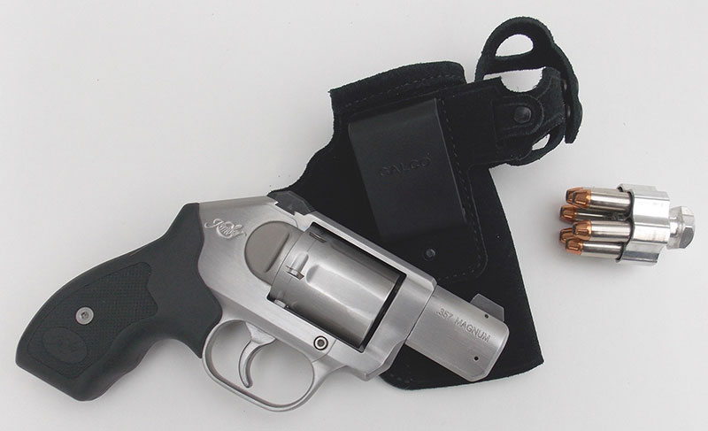 Kimber K6s .357 Magnum revolver is a powerful handgun in a light package that offers a high degree of personal protection.