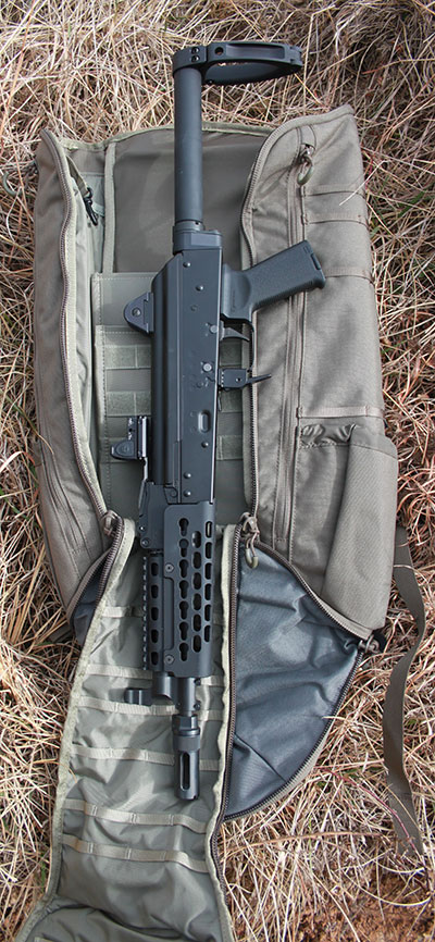 Advantages offered by an AK pistol with brace are hard to argue against if a situation arises that demands increased firepower and tactical potency.