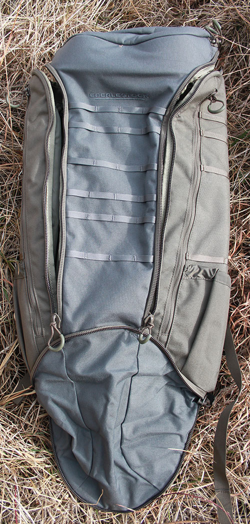 Eberlestock Big Trick bag offers an avenue for discretely maintaining access to a weapon larger and more powerful than a handgun when moving in public areas.