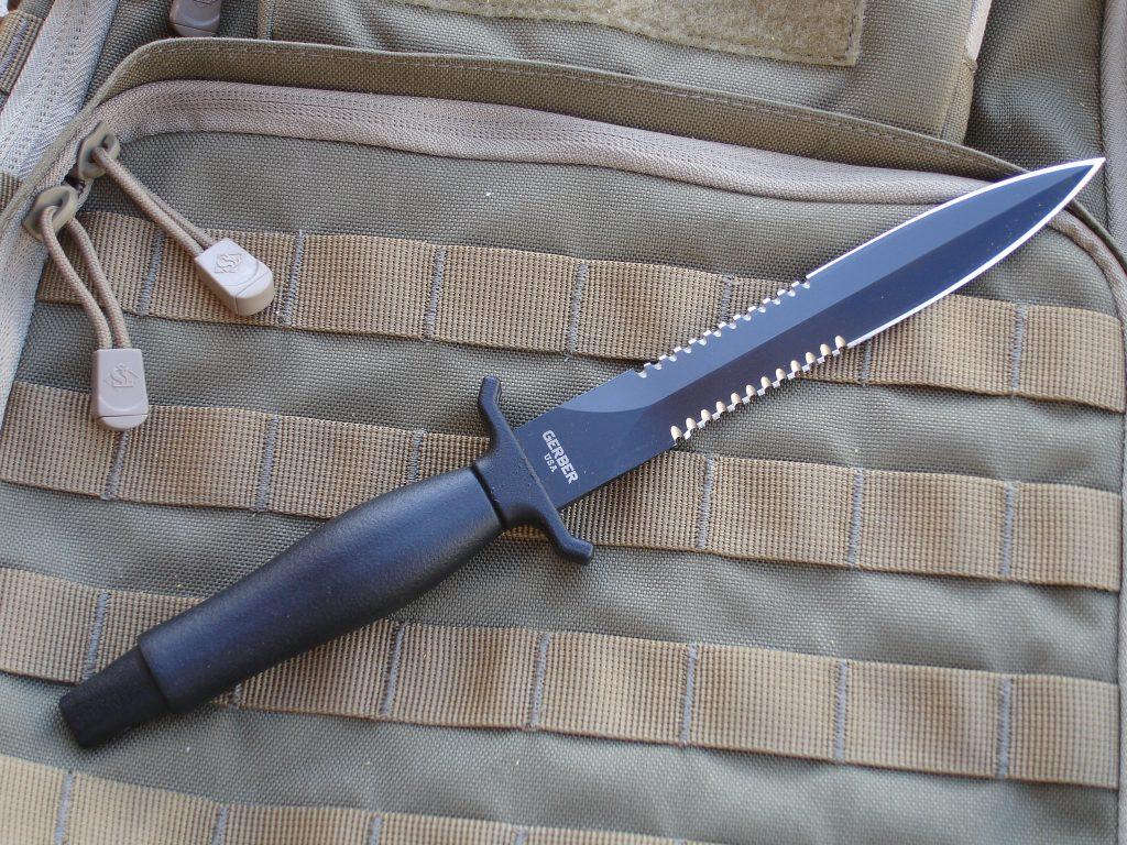 The Cutting Edge Gerber Mark Ii Classic Combat Knife