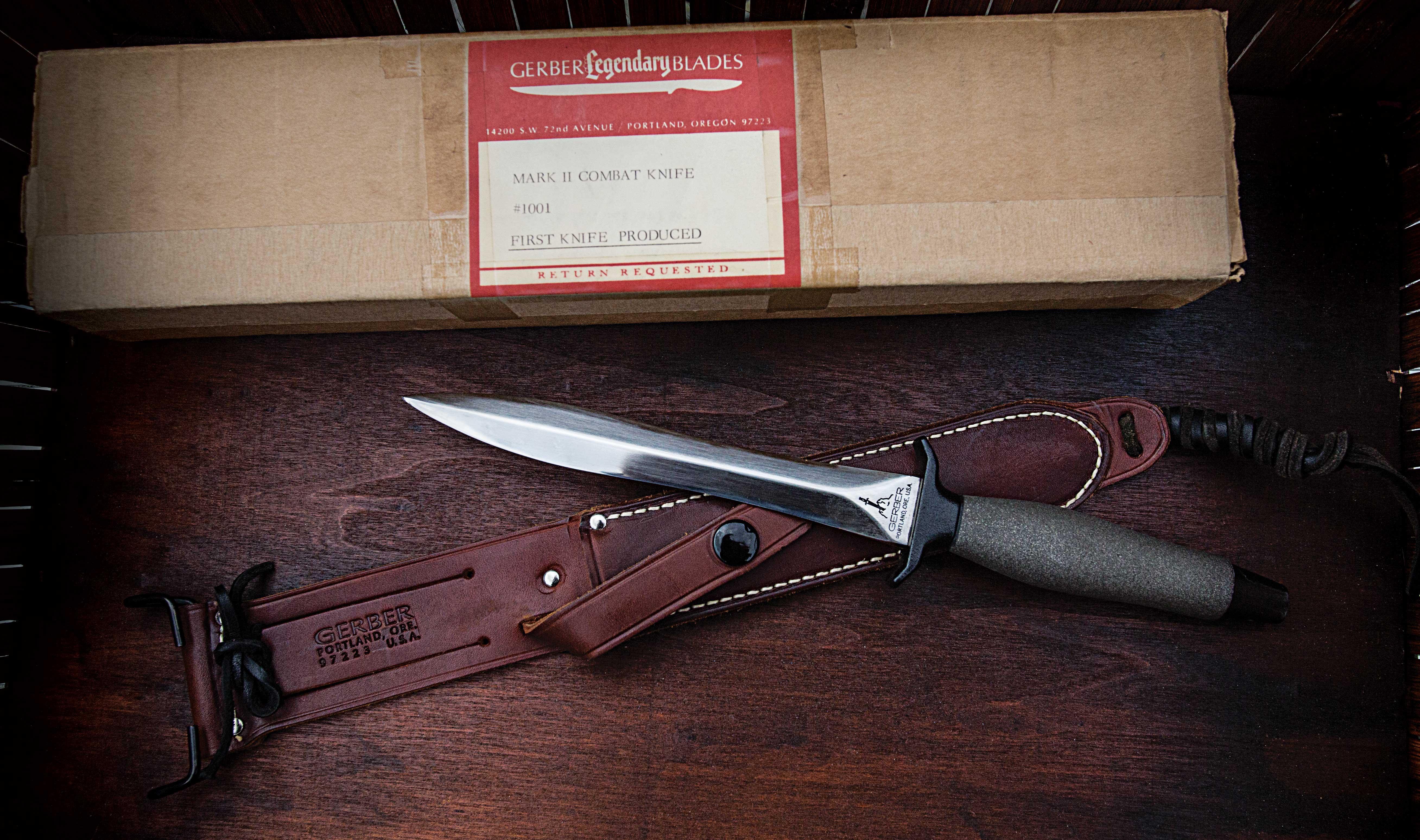The Cutting Edge: Gerber Mark II: Classic Combat Knife Turns