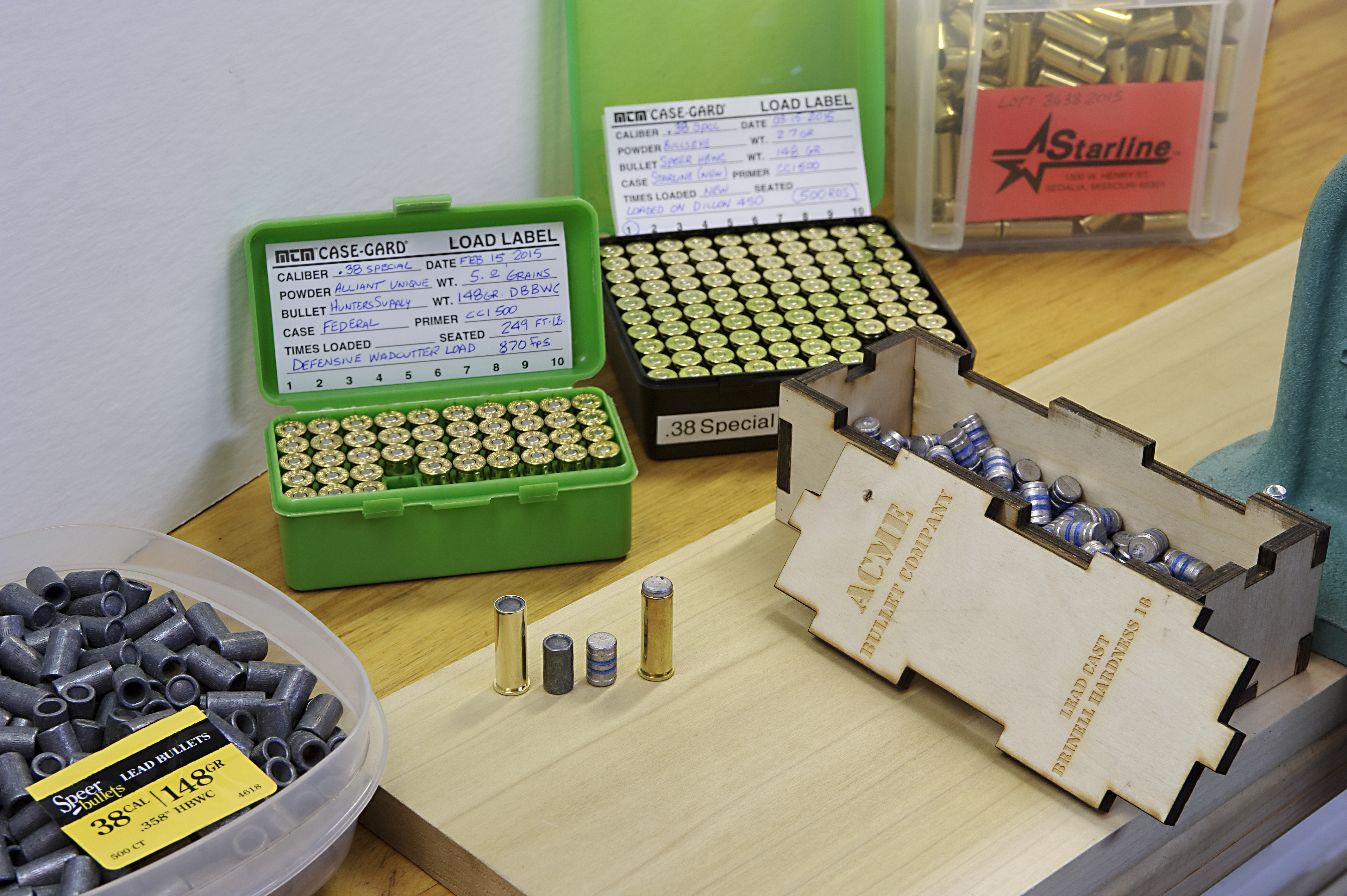 Homebrewed Loads for the  38 Special: Custom Tailor Your Ammo