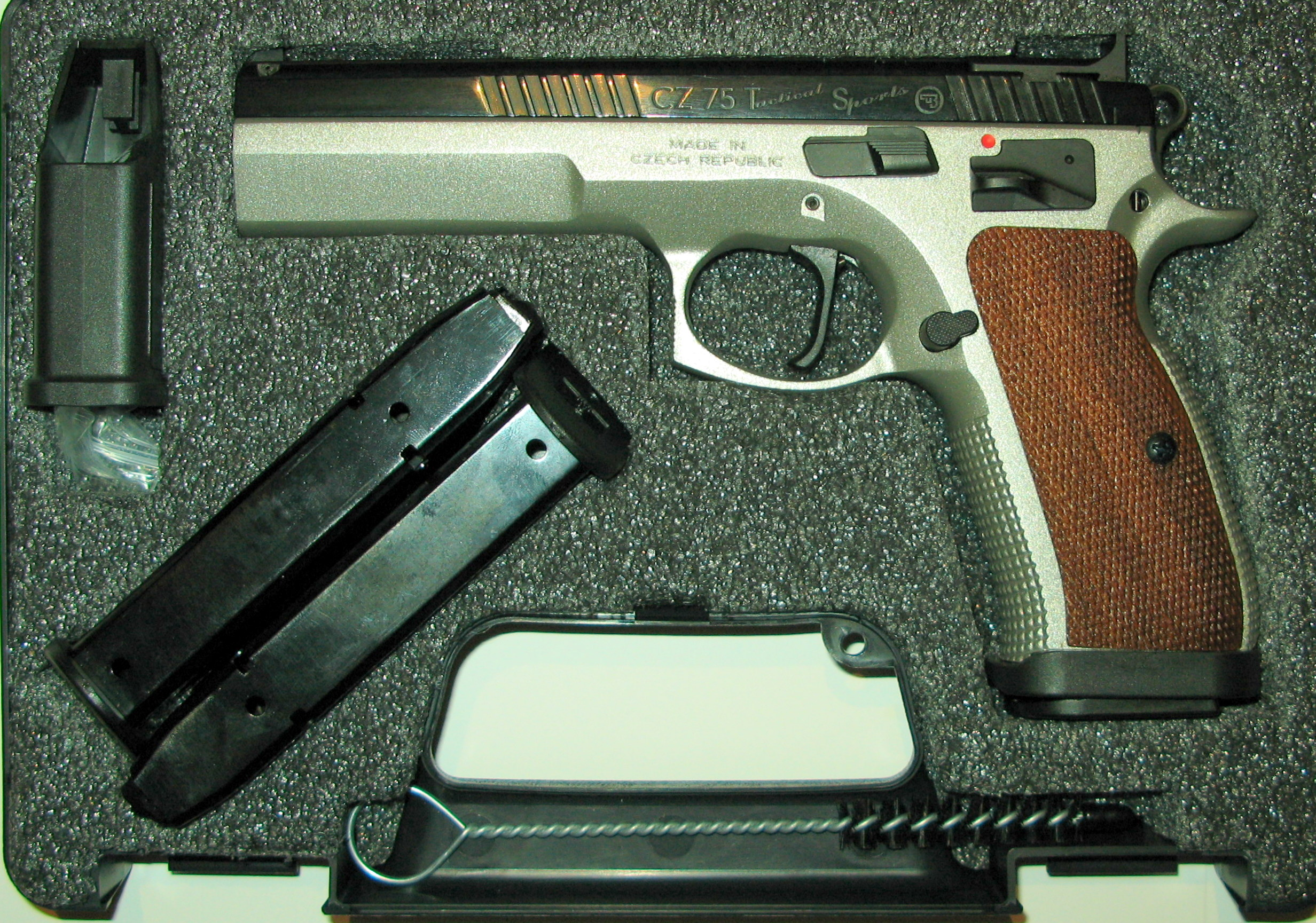 For Tactics or Trophies: CZ 75 Tactical Sport | S W A T