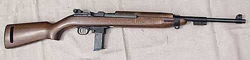 Except for magazine and mag well, Chiappa M1-9 is a dead ringer for the M1 Carbine.