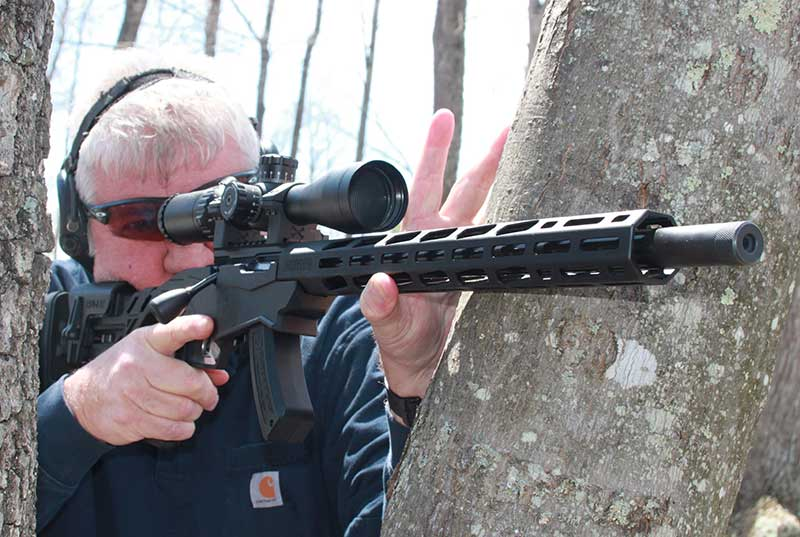 Assuming field positions with Ruger Precision Rimfire mirrored what would be needed with a centerfire rifle.