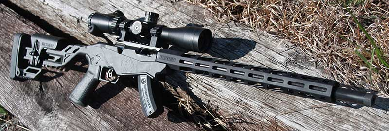 Ruger Precision Rimfire is purposely designed to simulate chassis-style rifles that have become so popular recently.