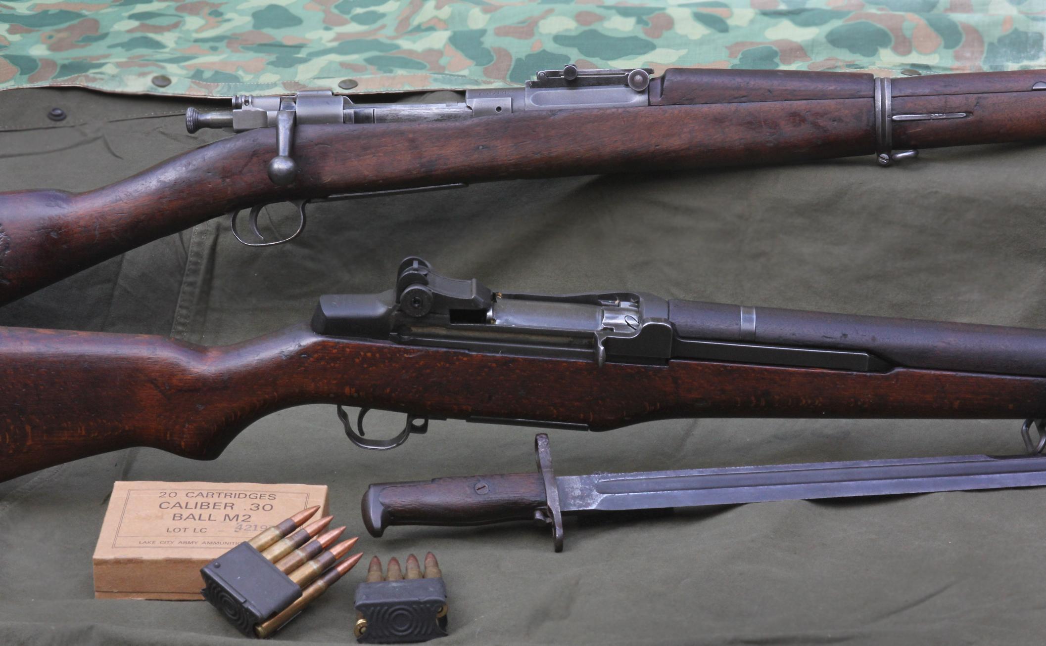 South Pacific Shootout: M1903 Springfield vs  M1 Garand