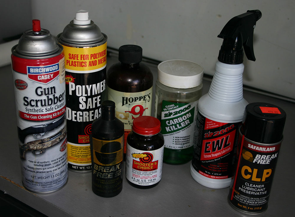 You don't need all of this every time for cleaning your weapon.