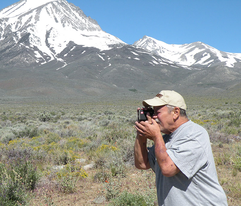 For field testing, author took Laser 1500 to upper Owens Valley in California's Eastern Sierras. When you're operating in territory like this, it's easy to use rangefinder's full 1,500-yard capability.