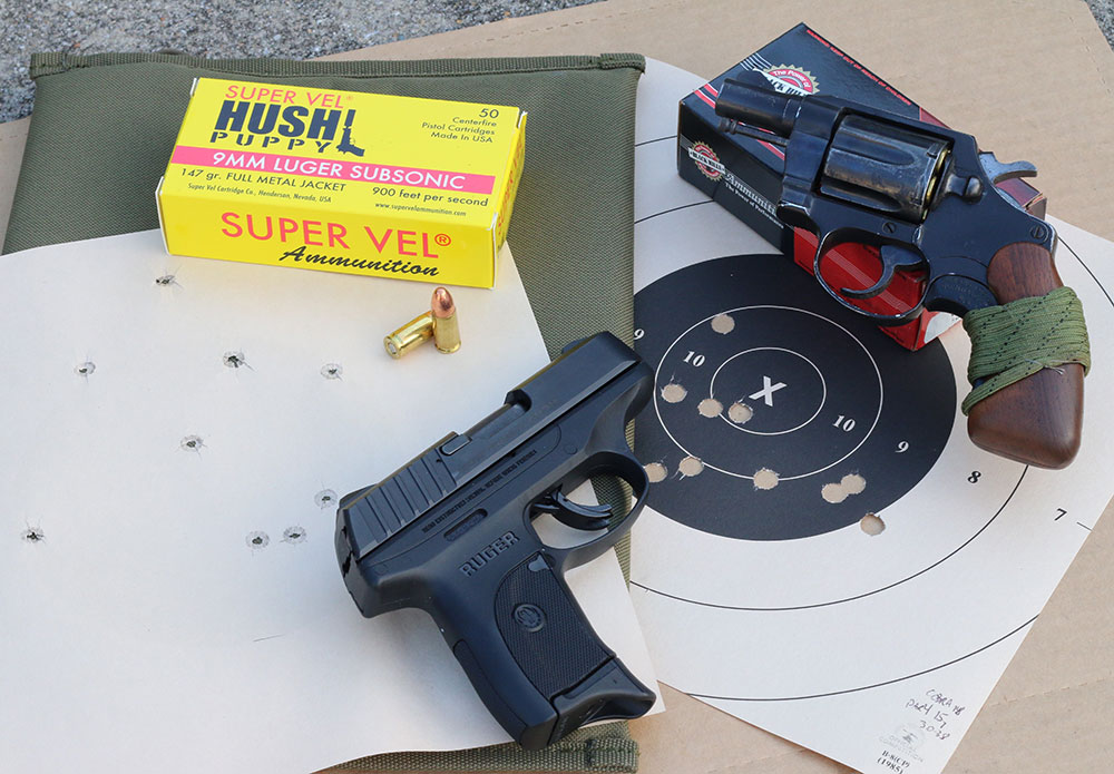 BUGs need work too. Drills can be adapted to back-up guns either by moving in to 15 yards and shooting for the bull, or staying at distance and allowing full ten-inch square target.