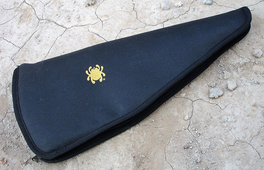 Padded heavy-duty zippered Cordura nylon carrying case is also included with HatchetHawk.