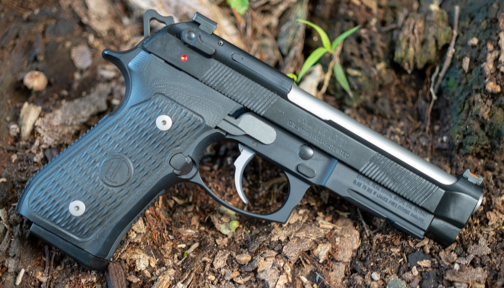 While skill trumps gear, good gear like this Langdon Tactical Beretta can make it easier to apply learned skills.