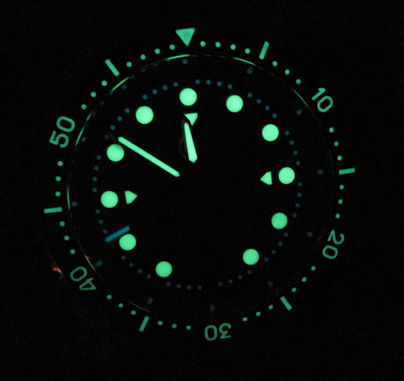 Mako has excellent lume for night viewing.